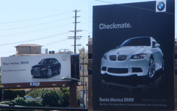 BMW Audi Your Move Checkmate