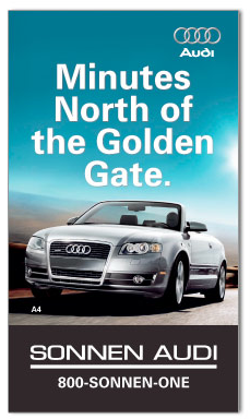 Audi Billboard Advertisement