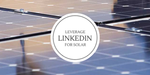 linkedin for solar