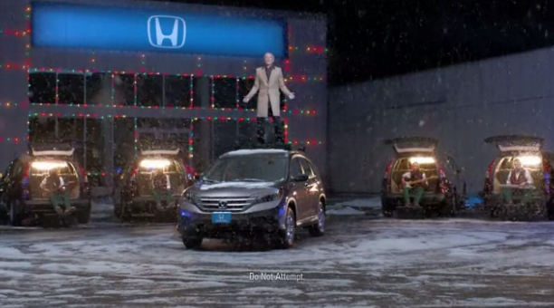 holiday car ads