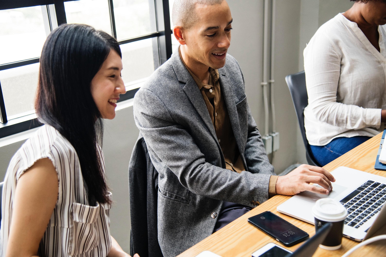 Business Team Meeting Digital Marketing