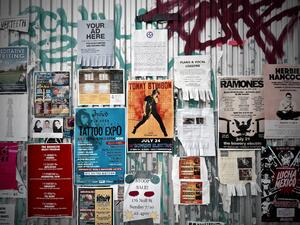 Wall of Flyers