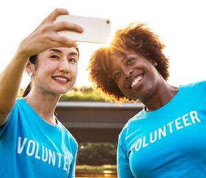 volunteer event social media marketing Twitter live tweet