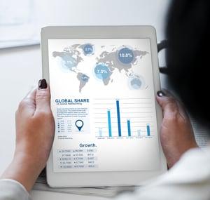 social media marketing data analytics iPad