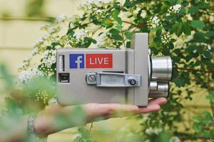 Facebook live content engagement social media digital marketing business