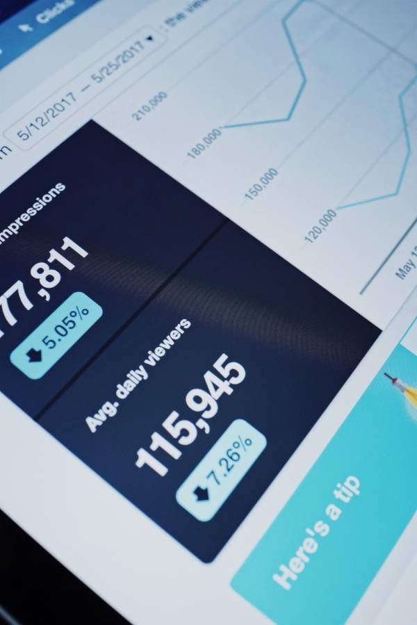 digital marketing analytics computer report