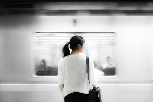 Train Woman